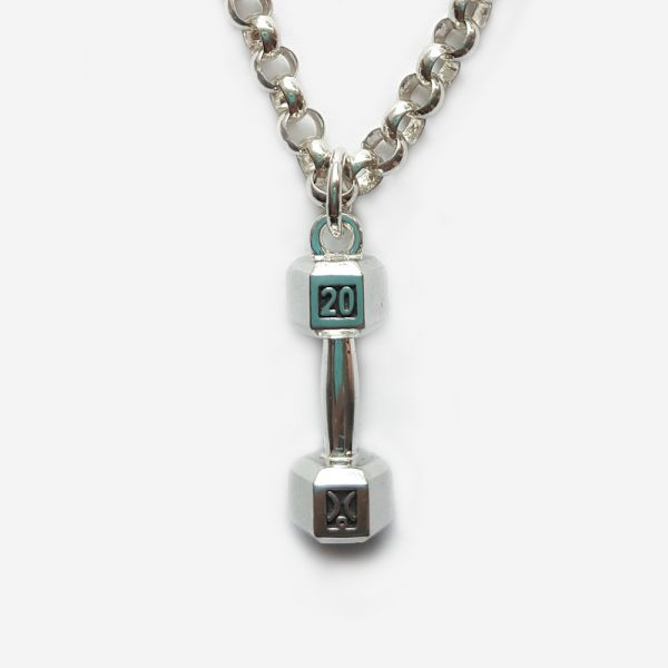 20kg Dumbbell Necklace