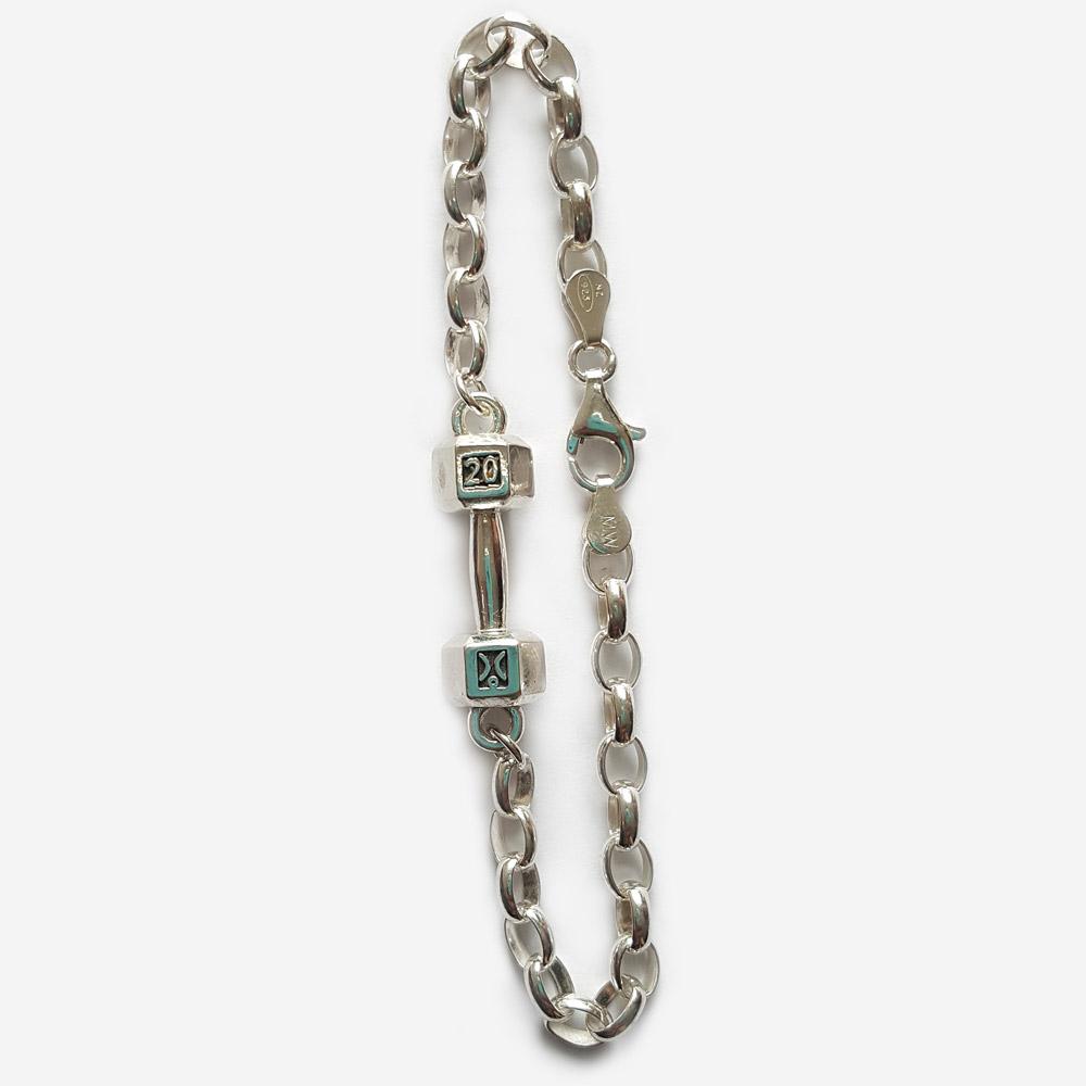 20kg Dumbbell Bracelet