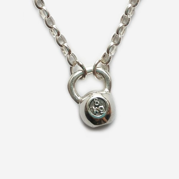 8kg Kettlebell Necklace
